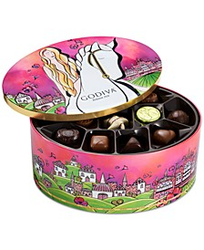 Chocolatier Limited Edition Lady Godiva Assorted Chocolate & Truffle Keepsake Tin