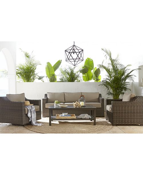 Furniture Camden Outdoor Seating Collection, Created for Macy's