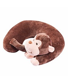 Memory Foam Travel Neck Pillow for Kids