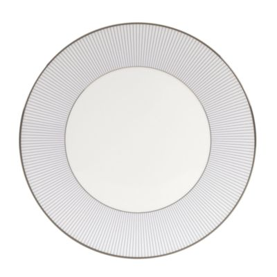 Pin Stripe Dinner Plate