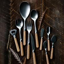 Vietri Albero Wood Flatware Collection