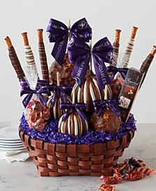Premium Caramel Apple Gift Basket