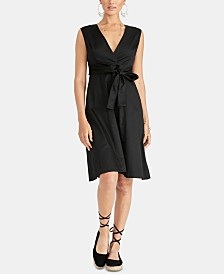 RACHEL Rachel Roy Cross-Back Dress