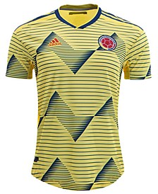 Men's Colombia National Team Authentic Home Jersey
