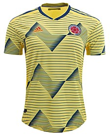 adidas Men's Colombia National Team Authentic Home Jersey