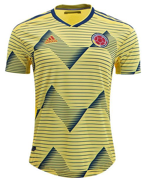 info for 03b96 fc667 Men's Colombia National Team Authentic Home Jersey