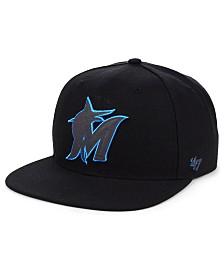 '47 Brand Miami Marlins Iridescent Snapback Cap
