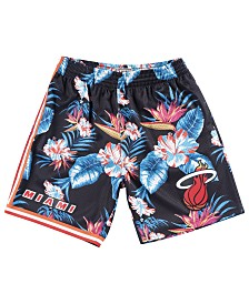 Mitchell & Ness Miami Heat NBA Men's Floral Swingman Shorts
