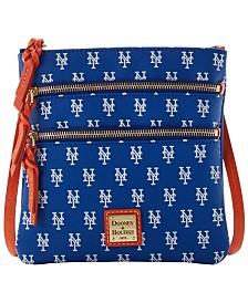 Dooney & Bourke New York Mets North South Triple Zip Purse