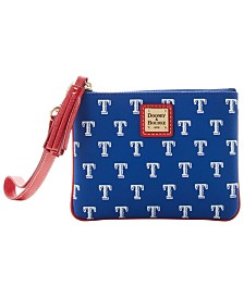 Dooney & Bourke Texas Rangers Stadium Wristlet