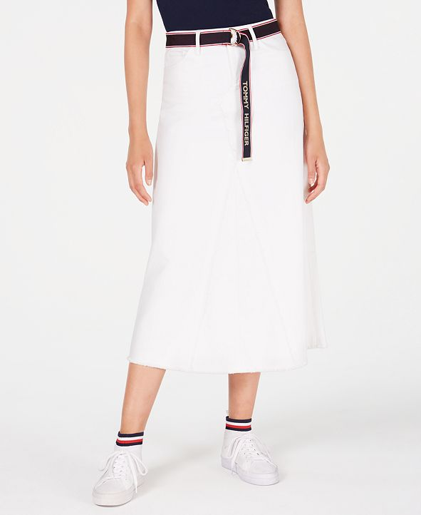 Tommy Hilfiger Midi Skirt, Created for Macy's