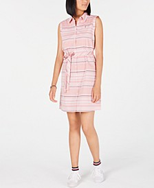 Cotton Striped Shirtdress, Created for Macy's