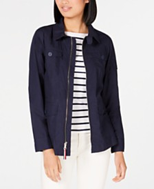 Tommy Hilfiger Cotton Utility Jacket, Created for Macy's