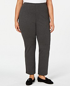 Plus Size Straight-Leg Pants, Created for Macy's