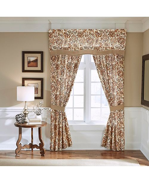 "Croscill Delilah 84"" Curtain Panel Pair"