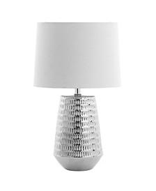 Stark Silver Table Lamp