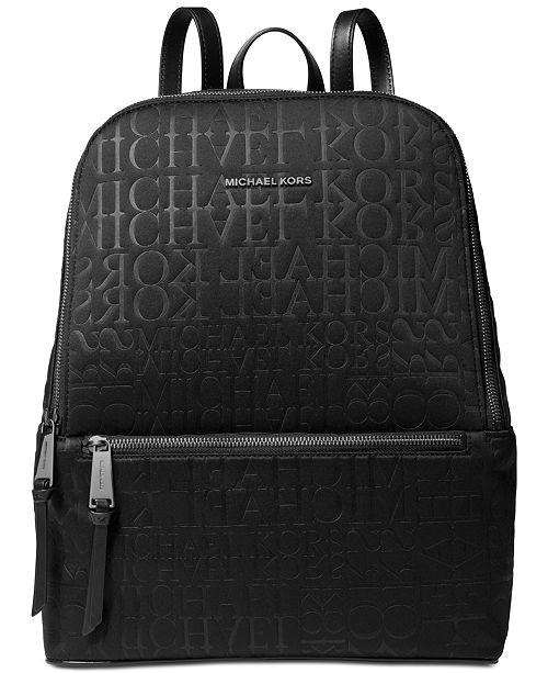Michael Kors Toby Neoprene Logo Backpack