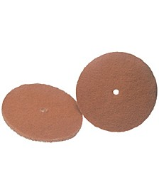 """45-0105-2 6"""" Cleaning Pads, 2 pk"""