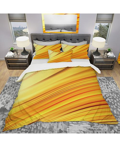 Design Art Designart 'Speed Of Light' Modern and Contemporary Duvet Cover Set - Queen