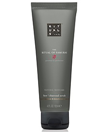 Men's The Ritual Of Samurai Face Charcoal Scrub, 4.2-oz.