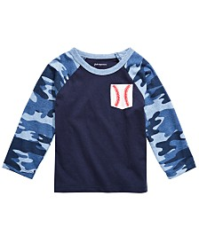 First Impressions Toddler Boys Baseball-Pocket Cotton T-Shirt, Created for Macy's