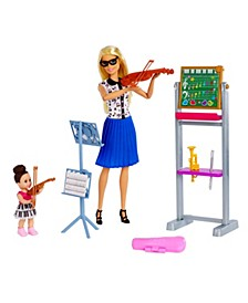 Music Teacher Doll & Playset