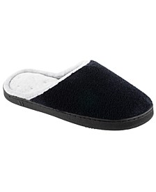 Women's Micro Terry Wider Width Clog Slippers
