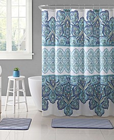 Pandora Printed 72 x 72 Shower Curtain