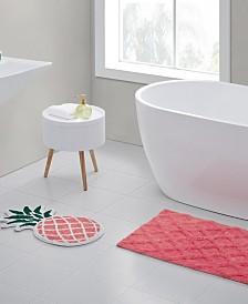 Pineapple 2-Pc. Bath Rug Set