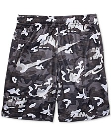 Little Boys Camo-Print Dri-FIT Shorts