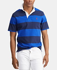 Men's Classic Fit Rustic Rugby Polo Shirt
