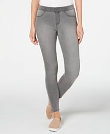 Style & Co Petite Pull-On Skinny Jeggings, Created for Macy's