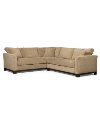 Awesome Kenton Fabric 2 Piece Sectional Sofa