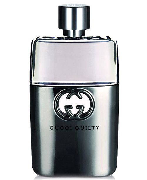 Gucci Guilty Men's Pour Homme Eau de Toilette Spray, 3 oz
