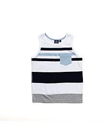 Toddler Boy Striped Tank