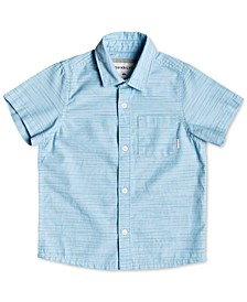 Big Boys Striped Cotton Shirt