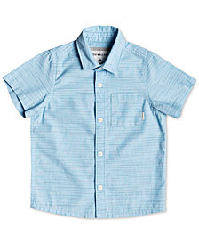 Quiksilver Big Boys Striped Cotton Shirt