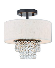 Carlisle 2-Light Ceiling Mount