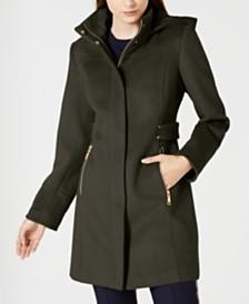 Vince Camuto Hooded Walker Coat