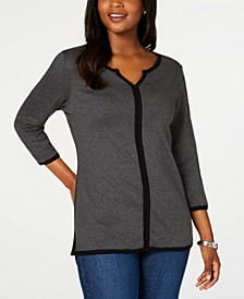Cotton Tipped Tunic, Created for Macy's
