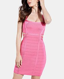 GUESS Kamilia Mirage Cutout Bandage Dress
