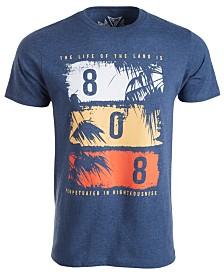 Univibe Men's Hawaii Motto Graphic T-Shirt