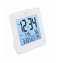 Digital Alarm Clock with Day, Date, Temperature