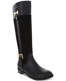 Deliee2 Wide-Calf Riding Boots, Created for Macy's
