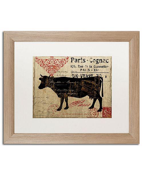 "Trademark Global Color Bakery 'Paris Farms I' Matted Framed Art - 16"" x 20"""