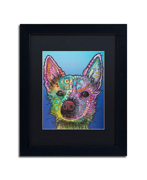 "Trademark Global Dean Russo 'Ozzie' Matted Framed Art - 11"" x 14"""