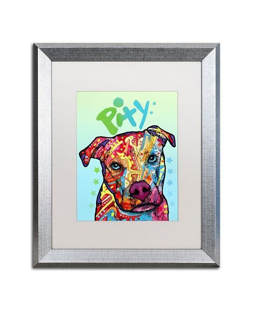 """Trademark Global Dean Russo 'Pity' Matted Framed Art - 16"""" x 20"""""""
