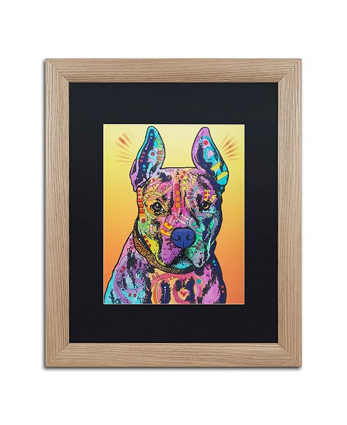 """Trademark Global Dean Russo 'Bugsy 2' Matted Framed Art - 16"""" x 20"""""""