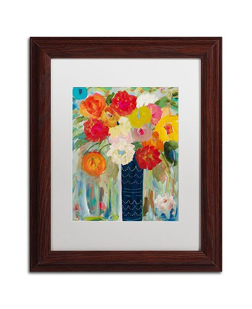 "Trademark Global Carrie Schmitt 'Here Comes The Sun' Matted Framed Art - 11"" x 14"""