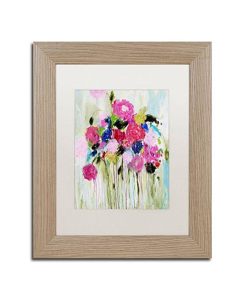 """Trademark Global Carrie Schmitt 'Mi Amor' Matted Framed Art - 11"""" x 14"""""""